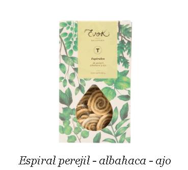 Espiral perejil- albahaca- ajo de Evok